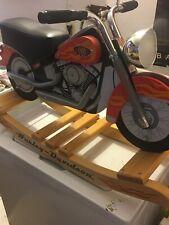 Harley Davidson Kid Kraft Wooden Softail Rocker Rocking Horse Used $80