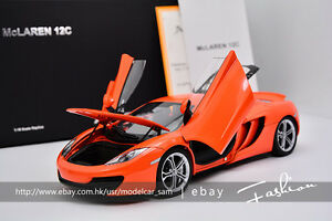 AUTOart 1:18 MCLAREN MP4-12C Orange