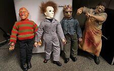 "Horrific! 18"" Jason Voorhees, Michael Myers, Leatherface, Freddy Krueger Loose"