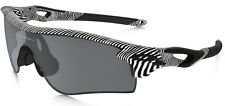 Oakley Men's Radarlock Path Black Iridium Polarized Sunglasses + Clear Lens