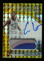 2016-17 Spectra CARIS LEVERT Rookie Card RC AUTO AUTOGRAPH PATCH GOLD #/10 SSP
