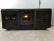 Sony Cdp-Cx235 Cd Player 200 Multi Disc Storage Tested Works No Remote New Belts