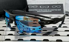 New Oakley 9188-58 FLAK 2.0 XL Sunglasses Matte Black/ Prizm Deep H2O Polarized