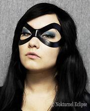 Ms Marvel Black Widow Leather Mask Harley Quinn Black Cat Superhero Halloween