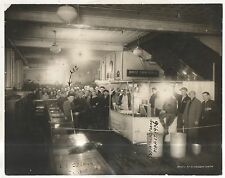Soup Line in 1936 Flood Stearns Department Store WILLIAMSPORT PA Antique Photo