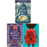 Girl Who Speaks, House with Chicken, Boy At the Back 3 Books Collection Set NEW