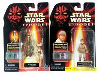 Star wars Hasbro ep 1 commtech chip Gasgano Anakin skywalker 1998 Sealed