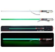 NEW BLACK SERIES STAR WARS FORCE FX LUKE SKYWALKER LIGHT SABER JEDI MASTER GREEN