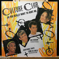 MAXIS 45 T  VINYL - CULTURE CLUB - DO YOU REALLY WANT TO HURT ME