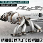 Exhaust Manifold Catalytic Converter Kit Fit 2007-2013 NISSAN ALTIMA 2.5L 4cyl <br/> Free Ship from USA❤High Quality❤Lifetime Warranty