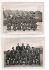 WW2  Photographs W.G.C. Welwyn Garden's Home Guard 1944 Collection 13 Images