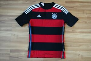 YOUNG 13-14Y GERMANY NATIONAL TEAM 2014-2015 AWAY FOOTBALL SHIRT JERSEY TRIKOT