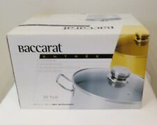 BNIB Baccarat ENTREE 8Lt Stockpot with Glass Lid