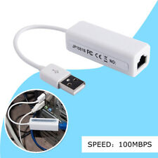 New USB Ethernet Adapter Usb 2.0 Network Card USB to Internet RJ45 Lan 100Mbps