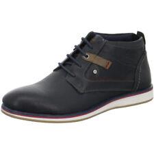 s.Oliver Herren Stiefeletten/ Boots Leder Blau Gr.42 (p06)