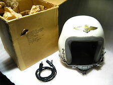 1960's US NAVY SPH-1 PILOT FLIGHT HELMET w/ORIGINAL BOX