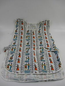 Egyptian Themed Cobbler Apron - Size Small - GUC