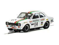 SCALEXTRIC Slot Car 1971 Ford Escort MK1 - Brands Hatch C3924