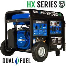 DuroMax XP13000HX 13000W 500cc Dual Fuel Gas Propane Portable Generator