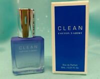 CLEAN ~COTTON T-SHIRT~ Eau de Parfum Perfume MINI Splash Fragrance .21oz Travel