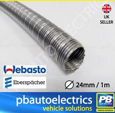 Webasto/Eberspacher heater 24mm Stainless Steel Flexible Exhaust per mtr 90394A
