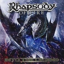 Into the Legend RHAPSODY OF FIRE CD ( FREE SHIPPING)