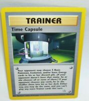 Rare Pokemon Card Trainer Time Capsule 90/111 1995 - 2000 Nintendo