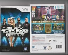 BLACK EYED PEAS EXPERIENCE NINTENDO WII