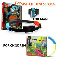 Fitness Ring for Nintendo Switch fit Adventure Game Sport Band Ring-Con Grips