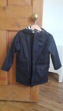John Lewis Boys Navy Blue Rain Coat Size 4 Years