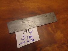 "Pioneer Custom Made Damascus Steel Billet,New 7"" Twist,Pt-1151"