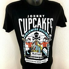 Johnny Cupcakes Marriott International Mens S T-Shirt Business Councils Black