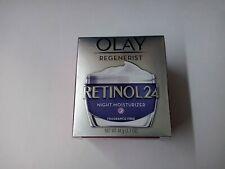 Olay Regenerist Retinol 24 Night Moisturizer 1.7 oz/48 g Fragrance-Free NIB