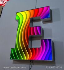 """New 3D Led Channel Letters signs - graphic image - 16"""" - Custom made"""