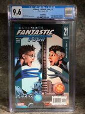 Ultimate Fantastic Four 21 9/05 Marvel Comics Variant Edition CGC 9.6