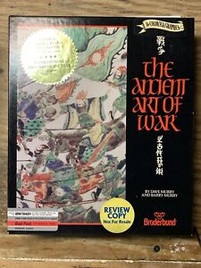 The Ancient Art of War/Classic Broderbund PC Game/CIB/Labeled Review Copy