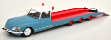 1:18 CMR Citroen DS Tissier Car Transporter 1970 blue/red