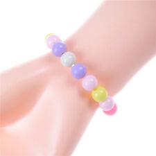 Girls Acrylic Handmade DIY Candy Color Beads Bracelets Fashion Jewelry Gifts KW