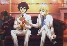 Owari no Seraph of the End / The Prince of Tennis poster promo anime official