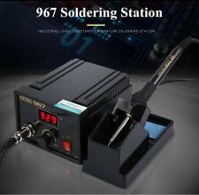 110-265V 967 Power Electric Soldering Station SMD Rework Welding Iron Holder 75w
