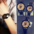 Wrist Watch Quartz Compass Men Women Watch Analog Fashion Luxury Stainless Steel