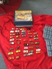 Matchbox Super Fast Case With 44 Cars Lesney, Hot Wheels Corgi Etc Rare Old New