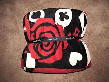NWT Vera Bradley Disney Throw Blanket Alice in Wonderland Painting the Roses Red