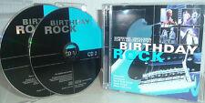 BIRTHDAY ROCK mit NAZARETH, SCORPIONS, DEEP PURPLE, ASIA; BJH; RUSH,  uva 2 CDs