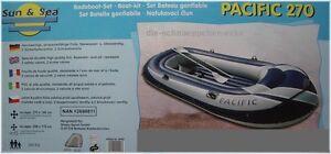 Schlauchboot Boot Paddelboot Gummiboot Schlauch Wasserboot Wasser PACIFIC 270