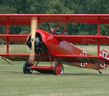 Giant 1/3 Scale German WW-I Fokker DR-1 Triplane Plans and Templates 96ws
