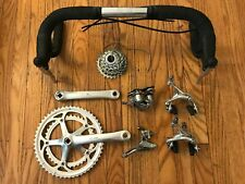 Campagnolo Veloce Mirage Groupset plus Nitto Dropbars - Great Condition