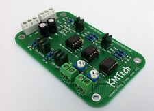 NEW ! LR mono 2-way active filter by KMTech BALANCED/UNBALANCED INPUT