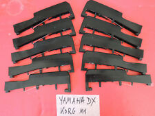 lot 10 Black KEYS Parts Keyboard YAMAHA DX7 DX7 Sy99 SY EX KORG M1 01w T KRONOS