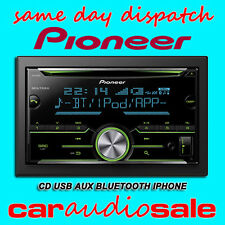 PIONEER FH-X730BT Bluetooth USB IPOD IPHONE control doble DIN coche estéreo